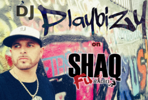 DJ Playbizy spins ALL GENRES of music on Shaq Fu Radio. Follow DJ Playbizy @DjPlaybizy on Twitter for updates.