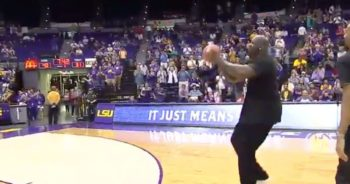 LSU Tigers' Shaquille O'Neal's Viral 3-pointer (Video)