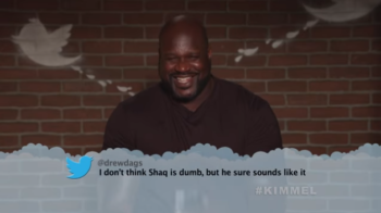 Shaquille O'Neal + More NBA Stars Read 'Mean Tweets'